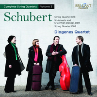 Schubert: Complete String Quartets Vol. 3