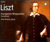 19 Hungarian Rhapsodies S244