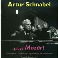 Schnabel Plays Mozart. The Complete Emi Recordings.
