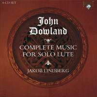 John Dowland - Complete Lute Music