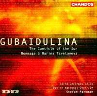 Gubaidulina: The Canticle Of The Sun By St Franc