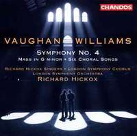 Vaughan W - Symphony No. 4 / Mass In G Minor /