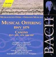 Bach: Musical Offering, Canons