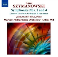 Symphonies Nos. 1 And 4, Concert Overture, Study In B Flat Minor
