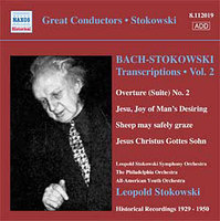 Bach - Stokowski: Transcriptions Vol. 2