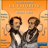 La Favorite / Arranged For Two Violins By Richard Wagner / With Spoken Text