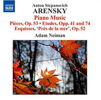 Arensky Piano Music