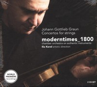 Johann Gottlieb Graun: Concertos For Strings [2cd]