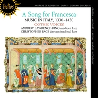 A Song For Francesca Music In Italy, 1330 - 1430