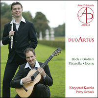 Bach, Giuliani, Piazzola, Boorne - Works For Flute And Guitar