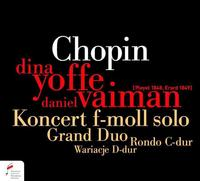 Chopin: Koncert F - Moll (Solo), Grand Duo Concertant, Rondo C - Dur, Wariacje D - Dur