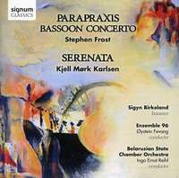 Parapraxis - Works For Bassoon, Orchestra & Choir