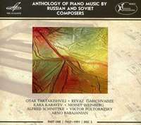 Anthology Of Piano Music By Russian And Soviet Composers Part 1 Disc 2 1917 - 1991