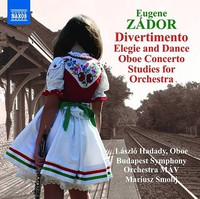 Zador: Divertimento, Elegie And Dance, Oboe Concerto, Studies For Orchestra