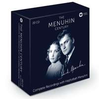 The Menuhin Century: The Complete Recordings With Hephzibah Menuhin (Limited)